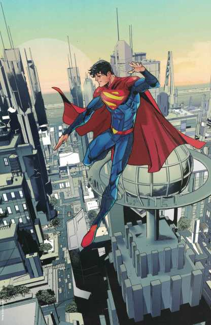 Superman Son of Kal-El #1 1:50 John Timms Virgin Variant DC 2021