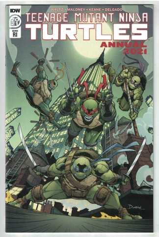 Teenage Mutant Ninja Turtles Annual 2021 1:10 Max Dunbar Variant IDW 2011 VF/NM