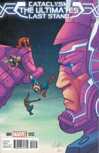 Cataclysm Ultimates Last Stand #4 1:50 Larroca Variant Bendis Marvel 2013
