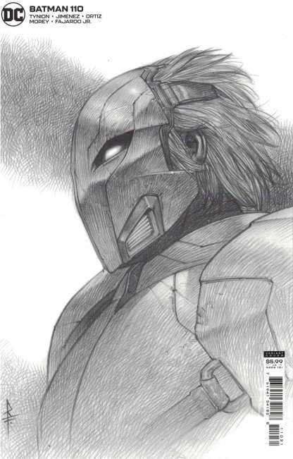 Batman #110 1:25 Riccardo Federici Sketch Variant Peacekeeper-01 DC 2016 Tynion