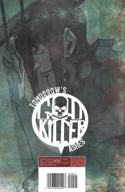 Godkiller Tomorrows Ashes #2 1:15 Soo Lee Variant Black Mask 2021 Pizzolo