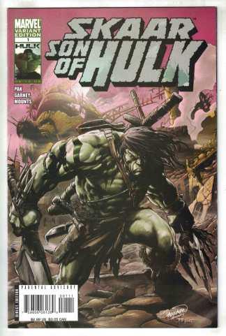 Skaar Son of Hulk #1 Pagulayan Variant 1st Full App & Origin Marvel 2008 NM-