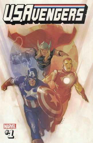 US Avengers #1 Noto Secret Variant 1:53 Ewing Marvel 2017