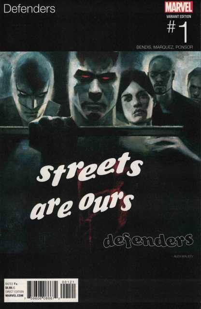 Defenders #1 Maleev Hip Hop Variant Marvel 2017