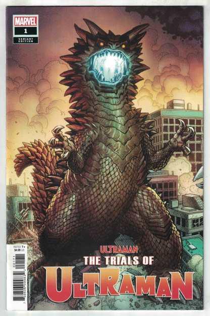 Trials of Ultraman #1 1:25 Art Adams Variant Marvel 2021 NM-