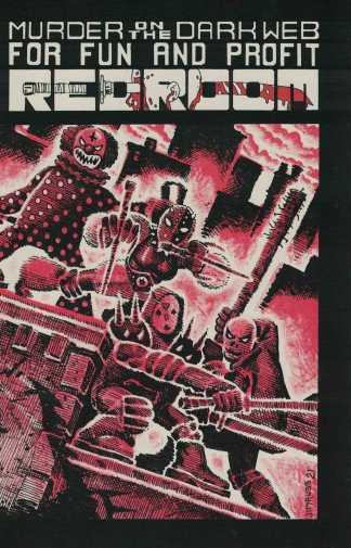 Red Room #3 1:15 Jim Rugg TMNT #1 Homage Variant Fantagraphics 2021