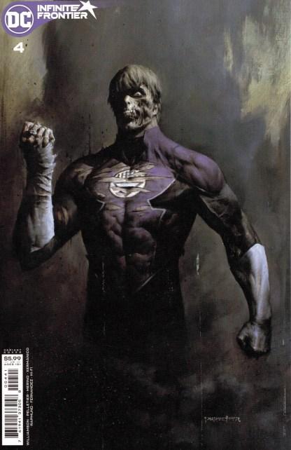 Infinite Frontier #4 1:25 Puppeteer Lee Variant DC 2021