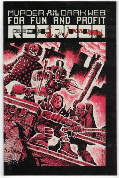Red Room #3 1:15 Jim Rugg TMNT Homage Variant Fantagraphics 2021 NM