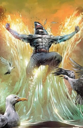 Suicide Squad King Shark Special Ed #1 1:4 Hairsine Virgin Variant DC 2021