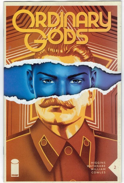 Ordinary Gods #2 1:25 Doaly Variant Image 2021 VF/NM