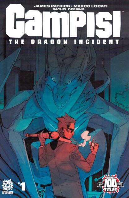 Campisi Dragon Incident #1 1:15 Marco Locati Variant AfterShock 2021