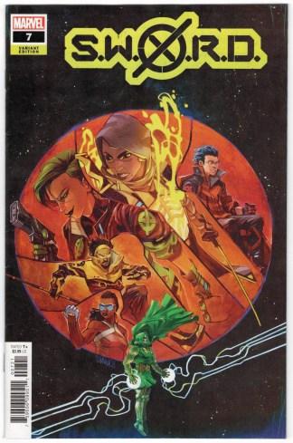 S.W.O.R.D. #7 Ivan Shavrin Variant Marvel 2020 X-Men VF/NM
