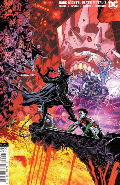 Dark Nights Death Metal #7 1:25 Doug Mahnke Variant DC 2020