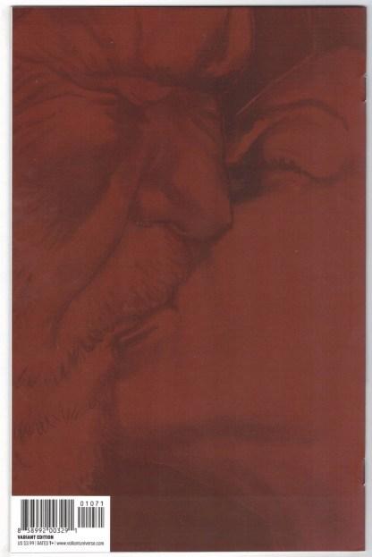 Bloodshot Reborn #10 1:50 Lewis LaRosa Sketch Variant Valiant 2015 VF/NM