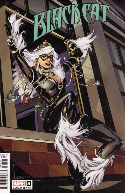 Black Cat #5 1:25 Emanuela Lupacchino Variant Marvel 2020
