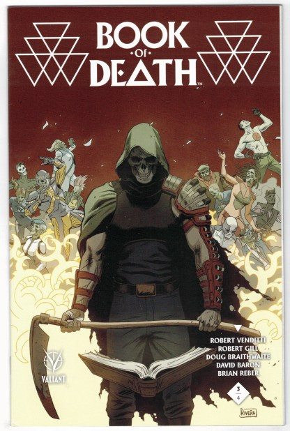 Book of Death #3 1:60 Paolo Rivera Variant Valiant 2015 Eternal Warrior VF/NM