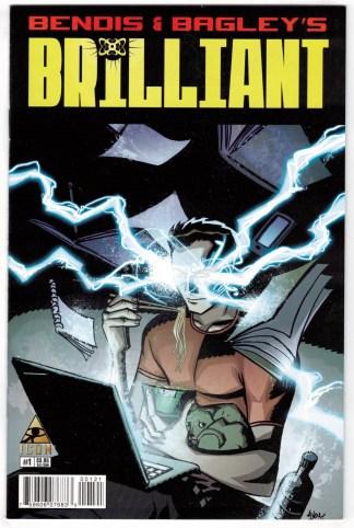 Brilliant #1 1:15 Michael Avon Oeming Variant Marvel 2011 Bendis Bagley VF/NM