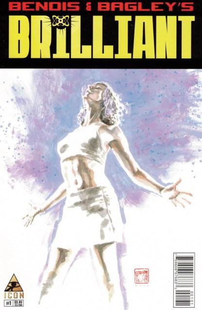 Brilliant #1 1:25 David Mack Variant Marvel Icon 2011 Bendis Bagley