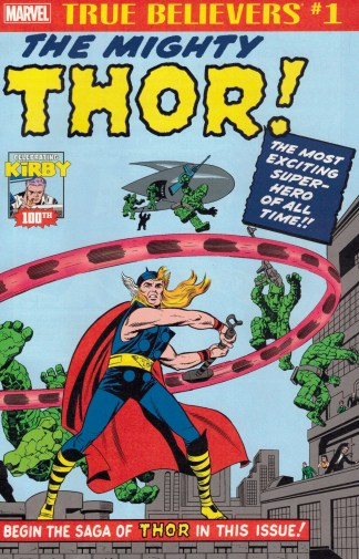 True Believers Mighty Thor #1 Reprints Journey Into Mystery #83 Marvel Kirby