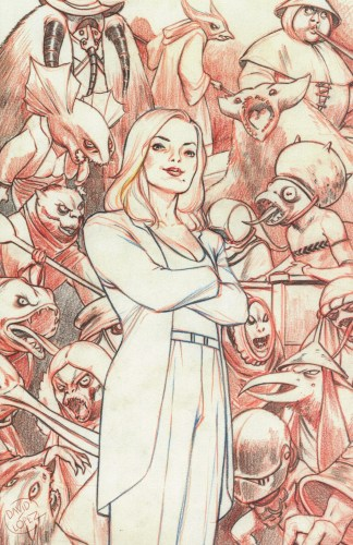 Buffy the Vampire Slayer #21 1:25 David Lopez Variant Boom 2019