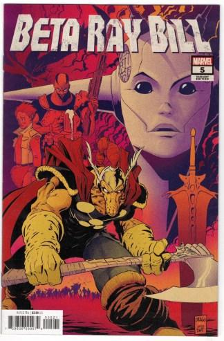 Beta Ray Bill #5 1:25 Nick Dragotta Variant Marvel 2021 VF/NM
