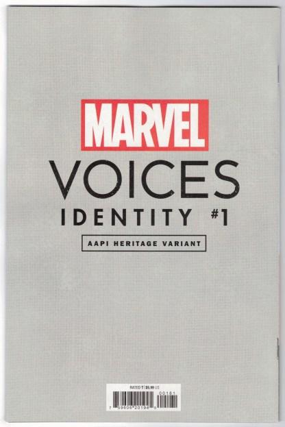 Marvels Voices Identity #1 1:50 Inhyuk Lee AAPI Heritage Virgin Variant VF/NM