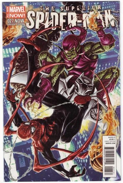 Superior Spider-Man #27 1:50 Mark Brooks Color Variant Marvel 2013 VF/NM