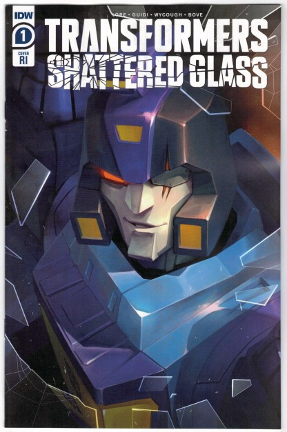 Transformers Shattered Glass #1 1:10 Sara Pitre-Durocher Variant IDW 2021 VF/NM