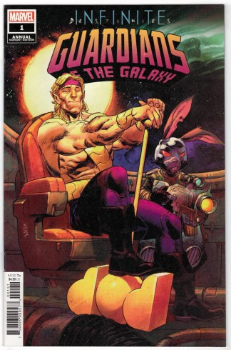 Guardians of the Galaxy Annual #1 1:25 Nic Klein Variant Marvel 2021 VF/NM