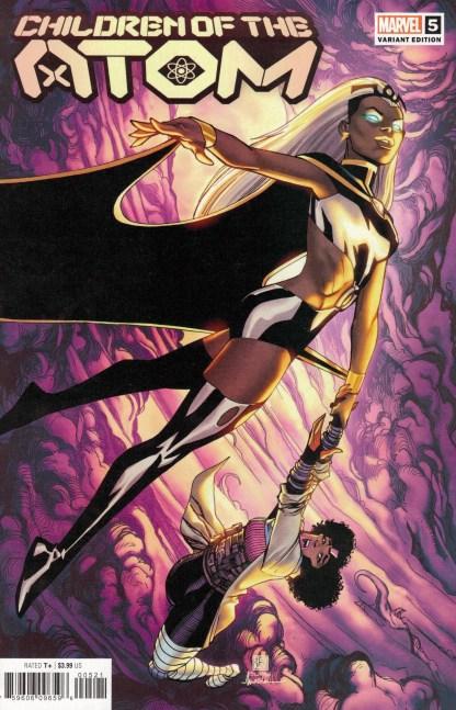 Children of the Atom #5 Bernard Chang Variant Marvel X-Men 2021