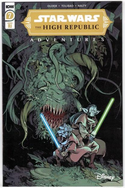 Star Wars High Republic Adventures #7 1:10 Kyriazis Variant Marvel 2021 VF/NM