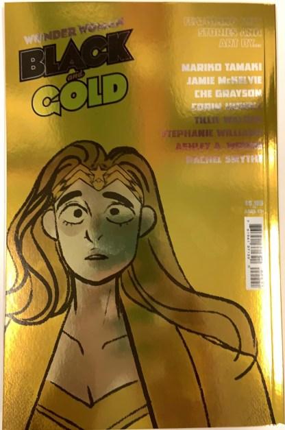 Wonder Woman Black and Gold #2 1:25 David Mack Gold Foil Variant DC 2021