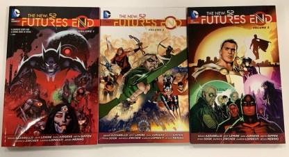 Futures End Complete TPB Set Vol 1-3 DC New 52 2014