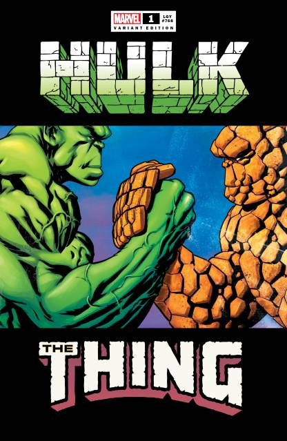 Hulk #1 Exclusive Mike McKone Hulk Thing Predator Epic Handshake Meme Variant