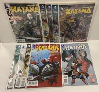 Katana #1-10 Complete Set DC New 52 2013 VF/NM