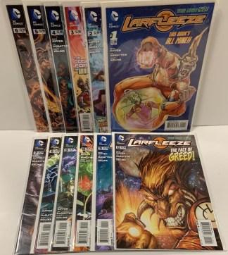 Larfleeze #1-12 Complete Set DC New 52 2013 VF/NM