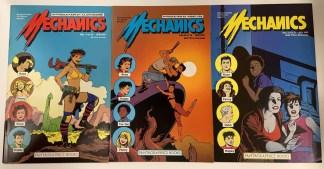 Mechanics #1-3 Complete Set Fantagraphics 1985 Love & Rockets VF/NM