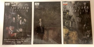 October Faction #1 A Cover + Sub Cover + 2nd Print Cover IDW 2014 VF/NM