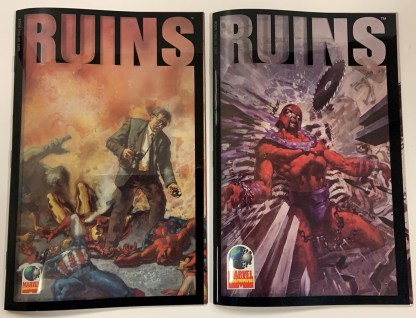 Ruins #1-2 Complete Set Marvel Alterniverse 1995 Warren Ellis Acetate VF/NM