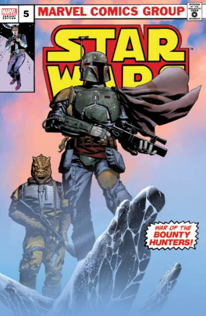 Star Wars War of the Bounty Hunters #5 Mike McKone Boba Fett Variant -Ships 10/6