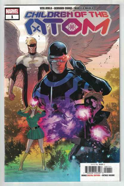 Children of the Atom #1 Silva Secret Variant Marvel 2021