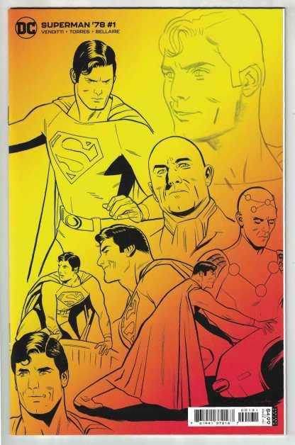 Superman '78 #1 1:25 Torres Variant Venditti DC 2021 VF/NM