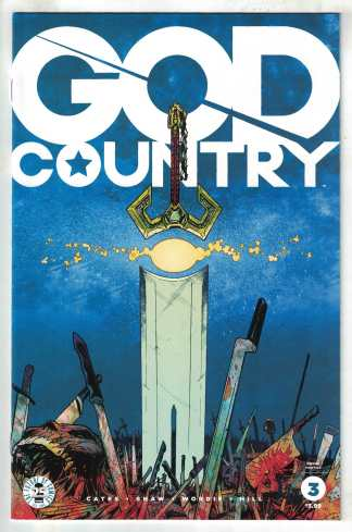 God Country #3 2nd Print Geoff Shaw Variant Donny Cates 2016 VF/NM