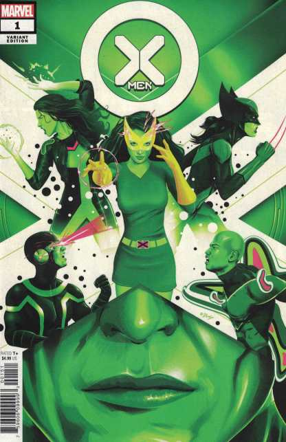 X-Men #1 1:25 Doaly Variant Duggan Marvel 2021
