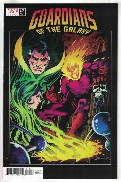 Guardians of the Galaxy #17 1:50 Brunner Hidden Gem Variant Marvel 2020 VF/NM