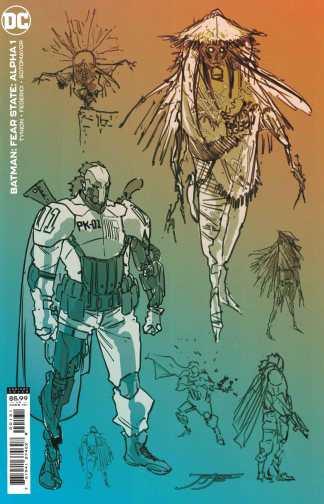 Batman Fear State Alpha #1 1:25 Jimenez Design Variant Tynion IV DC 2021