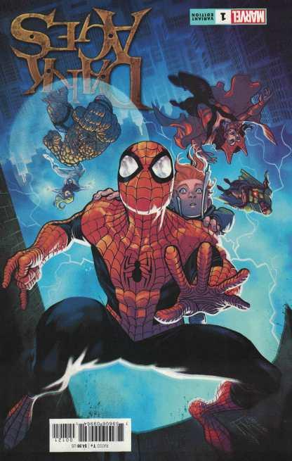 Dark Ages #1 1:25 Manapul Variant Tom Taylor Marvel 2021