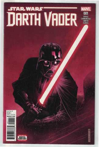 Star Wars Darth Vader #1 Cheung Cover A Soule Marvel 2017 VF/NM