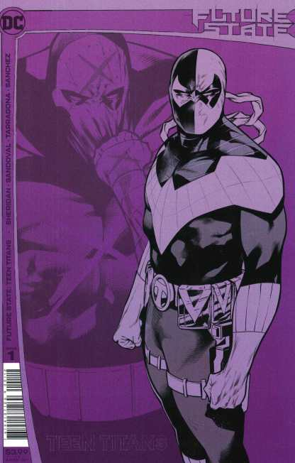 Future State Teen Titans #1 2nd Print Sandoval Variant DC 2021