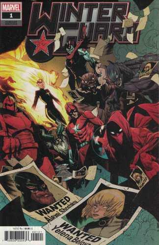 Winter Guard #1 1:25 Kim Jacinto & Nolan Woodard Variant Marvel 2021 Ryan Cady